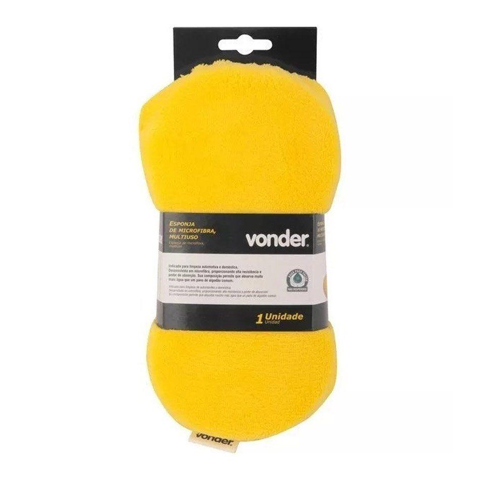 Esponja de Microfibra para Lavagem Vonder
