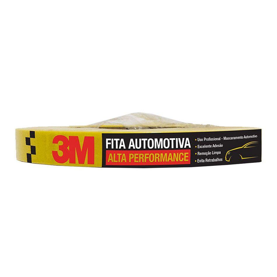 Fita Crepe Automotiva de Alta Performance 18mmX40m 3M