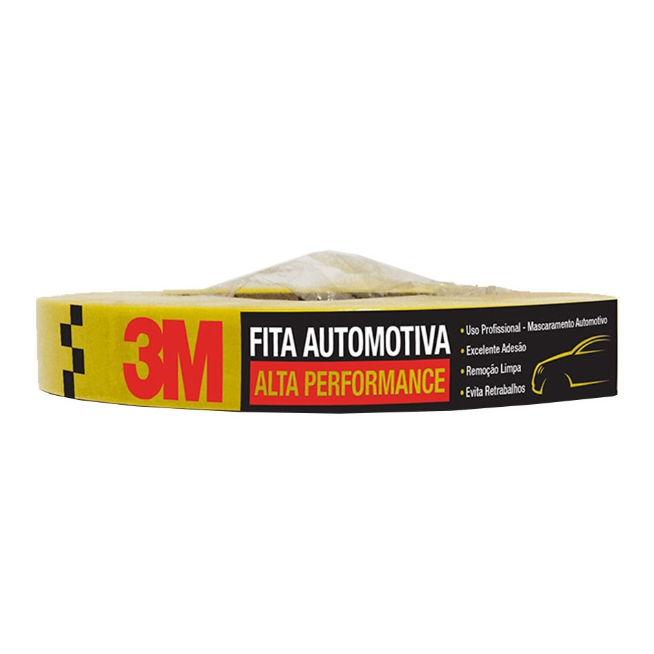 Fita Crepe Automotiva de Alta Performance 24mmX40m 3M