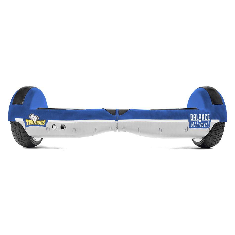 Hoverboard Balance Wheel Azul e Branco Two Dogs