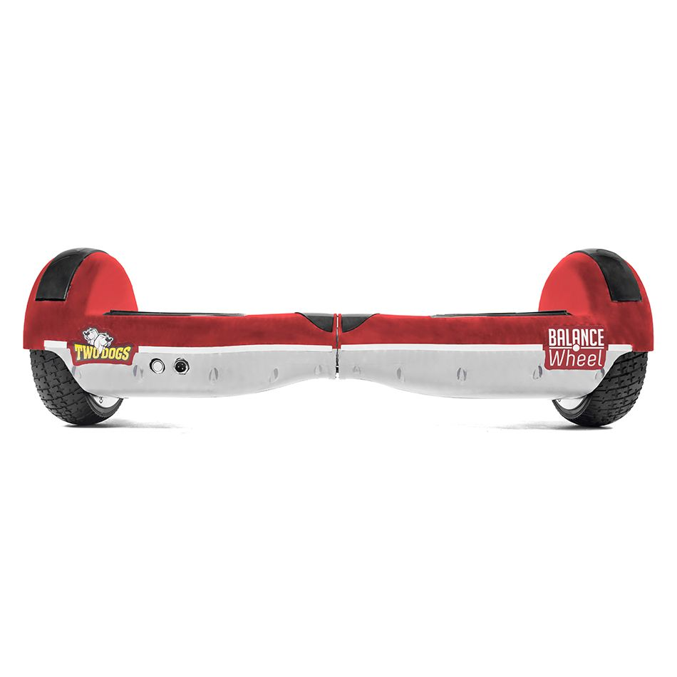 Hoverboard Balance Wheel Vermelho e Branco Two Dogs