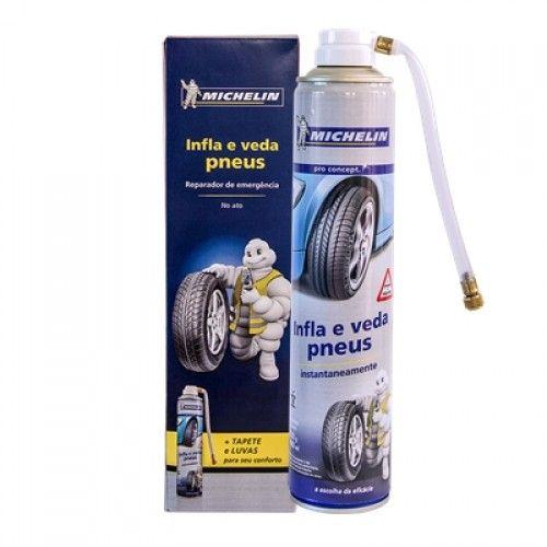Infla e Veda Pneus 490ml Michelin