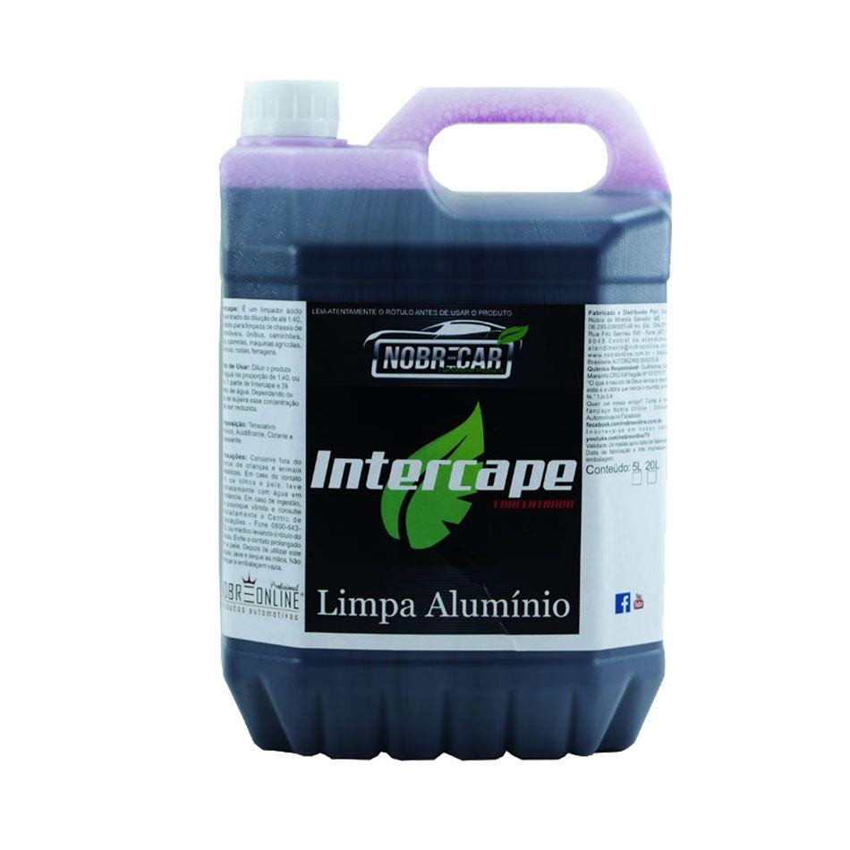 Intercape Limpa Alumínio 5lt Nobre Car