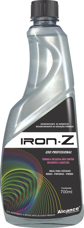 Iron-Z Descontaminante de Componente Ferroso 700ml Alcance Profissional