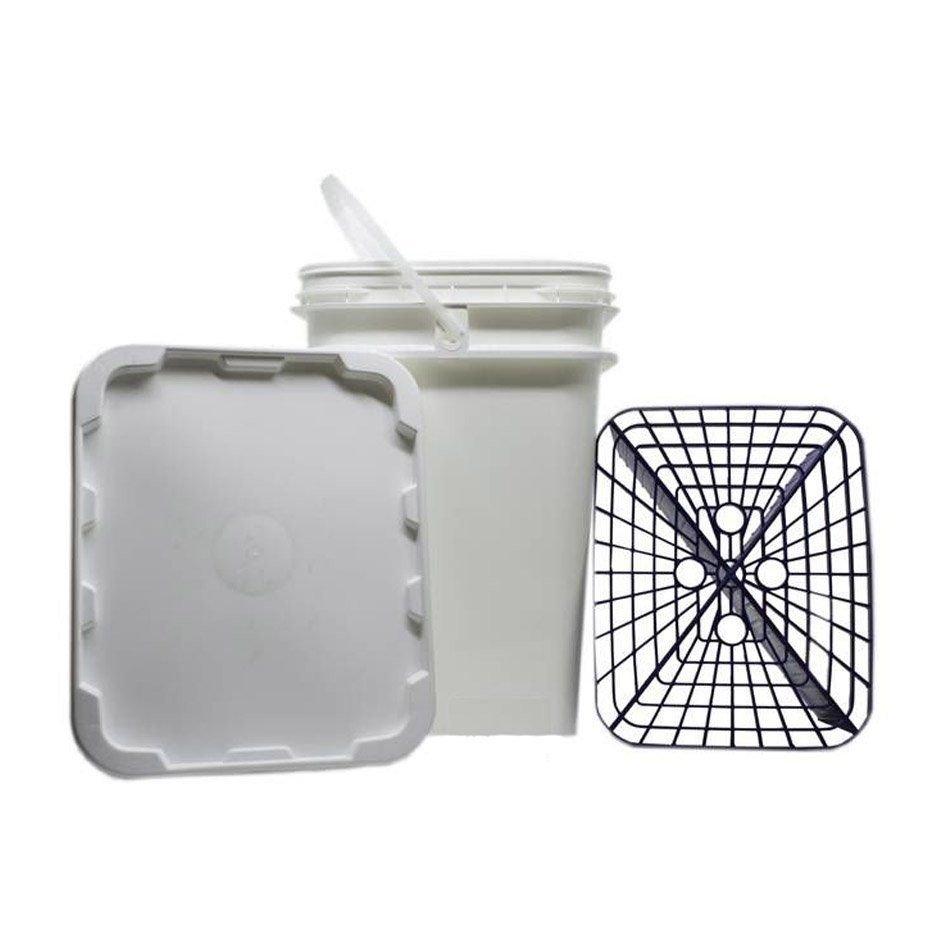 Kit de 2 Balde com Separador de Partículas Azul 18lt Ultimate Filter + Clay Bar Média 100g Autoamerica