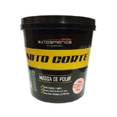 Massa de Polir Auto Corte (8 unidades) 1kg Autoamerica