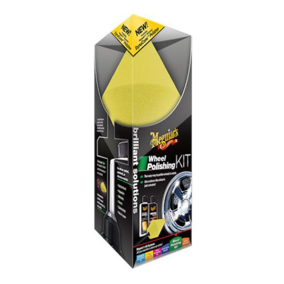 Kit Polidor de Rodas Wheel Polishing G3400 Meguiars