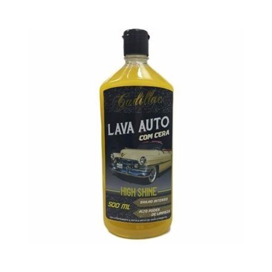 Lava Auto com Cera High Shine 500ml Cadillac