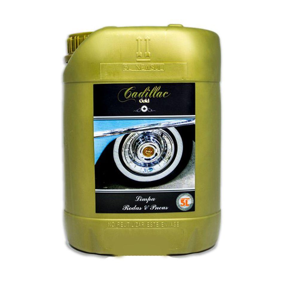 Limpa Rodas e Pneus 5lt Cadillac