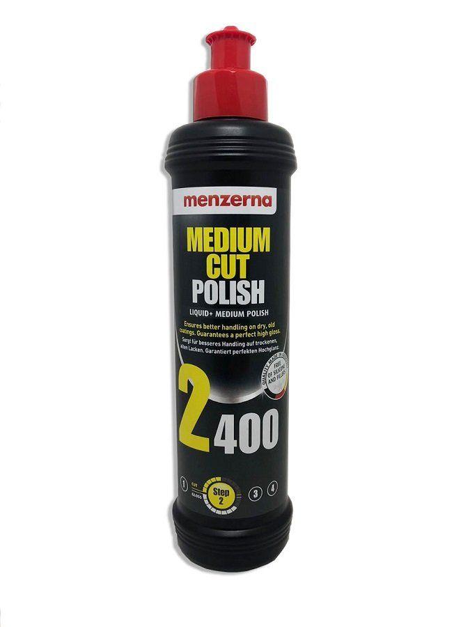 Medium Cut Polish Líquid+ 2400 250ml Menzerna