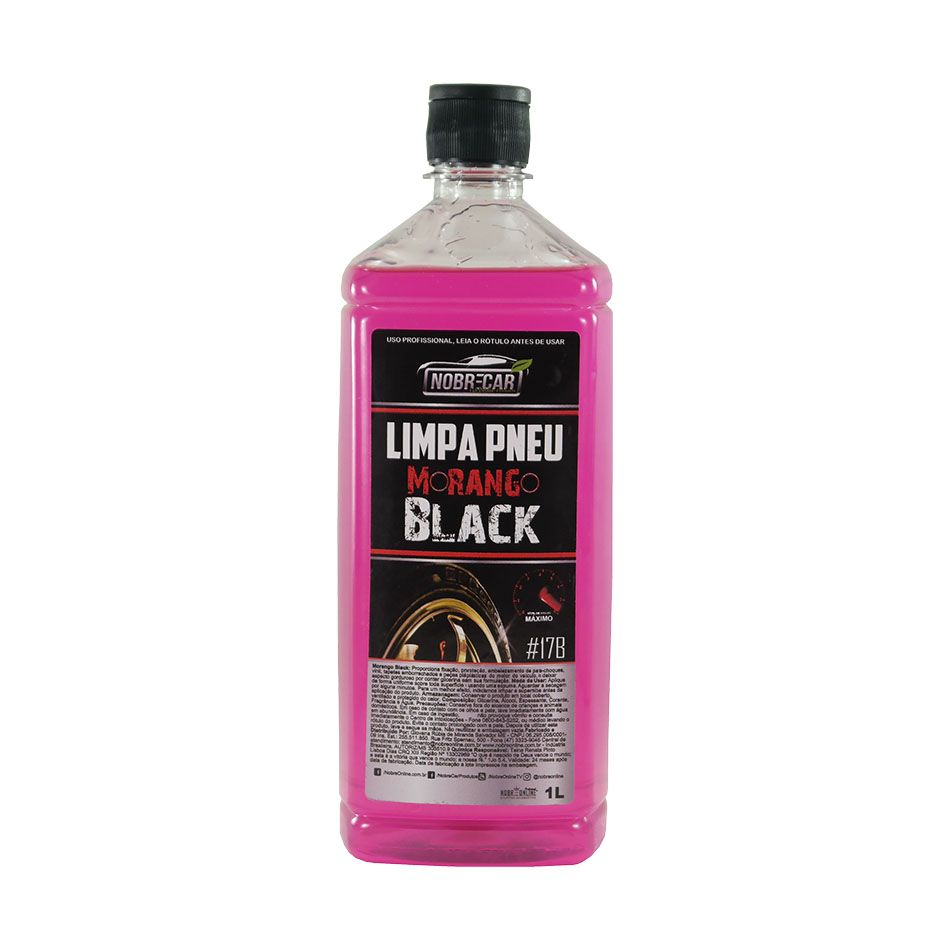 Limpa Pneu Morango Black 1lt Nobre Car