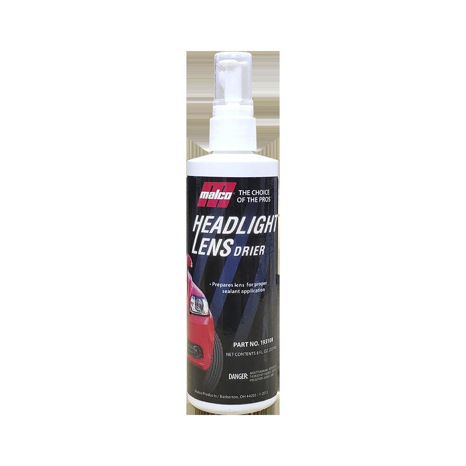 Preparador Headlight Lens Drier 236ml Malco