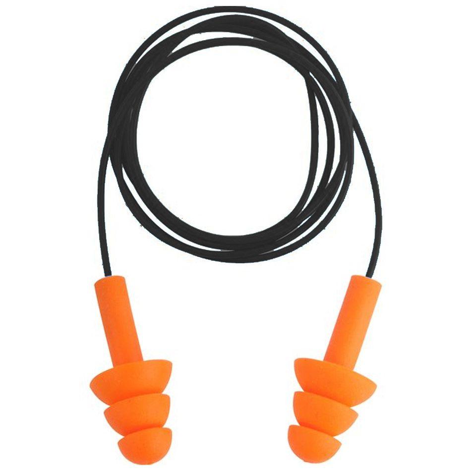 Protetor Auditivo Tipo Plug de Silicone com Cordão em PVC Vonder