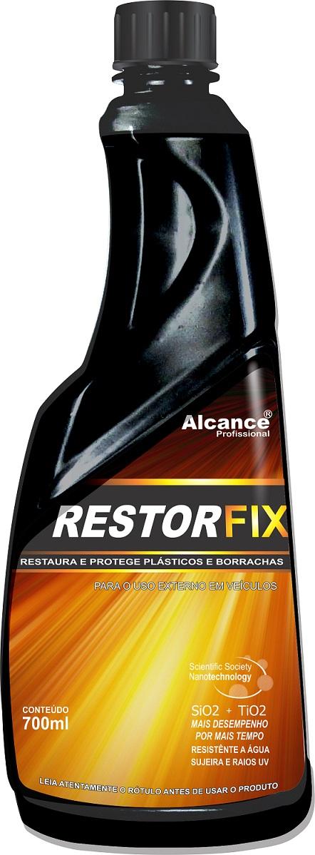 Restorfix Restaurador de Plásticos Externos 700ml Alcance Profissional