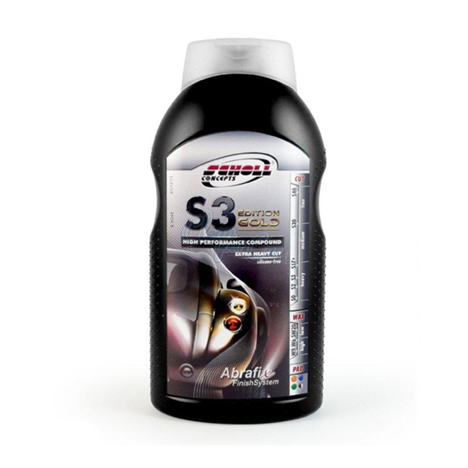 S3 Gold Super Corte Pesado 1kg Scholl Concepts