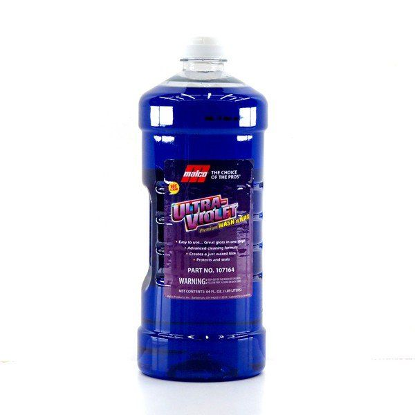 Shampoo c/ Cera Ultra Violet 1,89lt Malco + Oxiclean 700ml Alcance Profissional