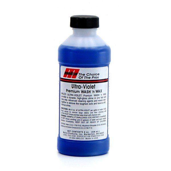Shampoo c/ Cera Ultra Violet 236ml Malco + Oxiclean 700ml Alcance Profissional