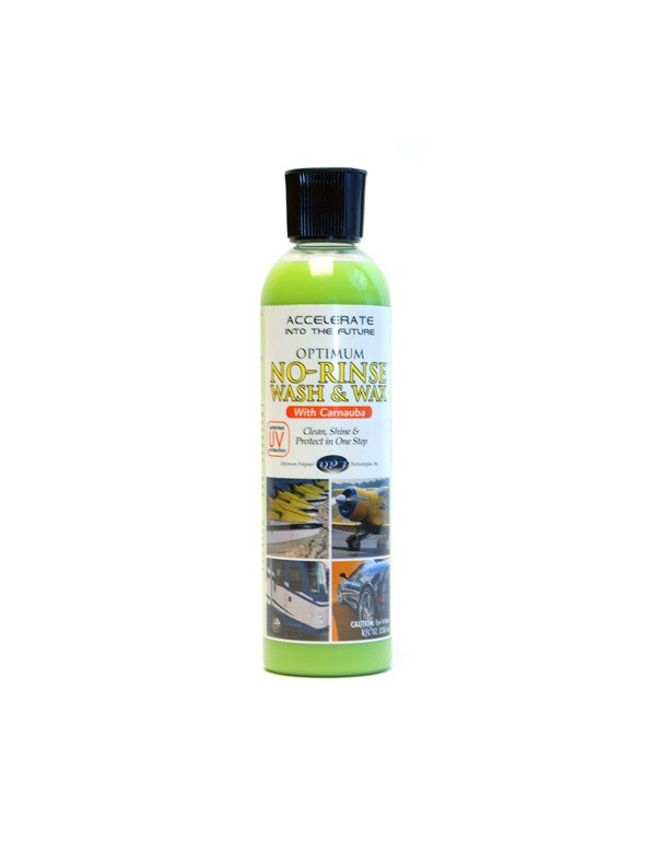 Shampoo Ecológico No Rinse Wash & Wax 236ml Optimum