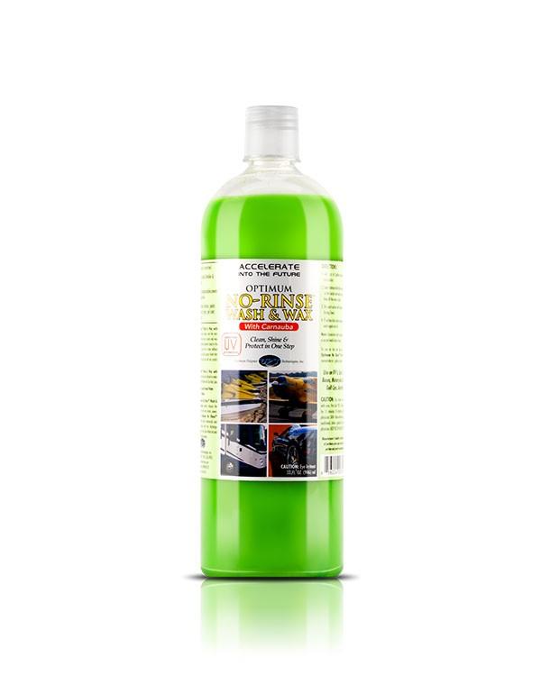 Shampoo Ecológico No Rinse Wash & Wax 946ml Optimum