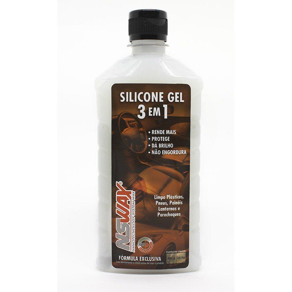 Silicone Gel 3 em 1 500ml NSWAX