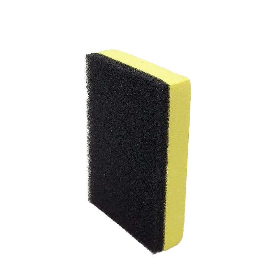Taco Aplicador de Vitrificadores EVA com Espuma Amarelo CarXparts