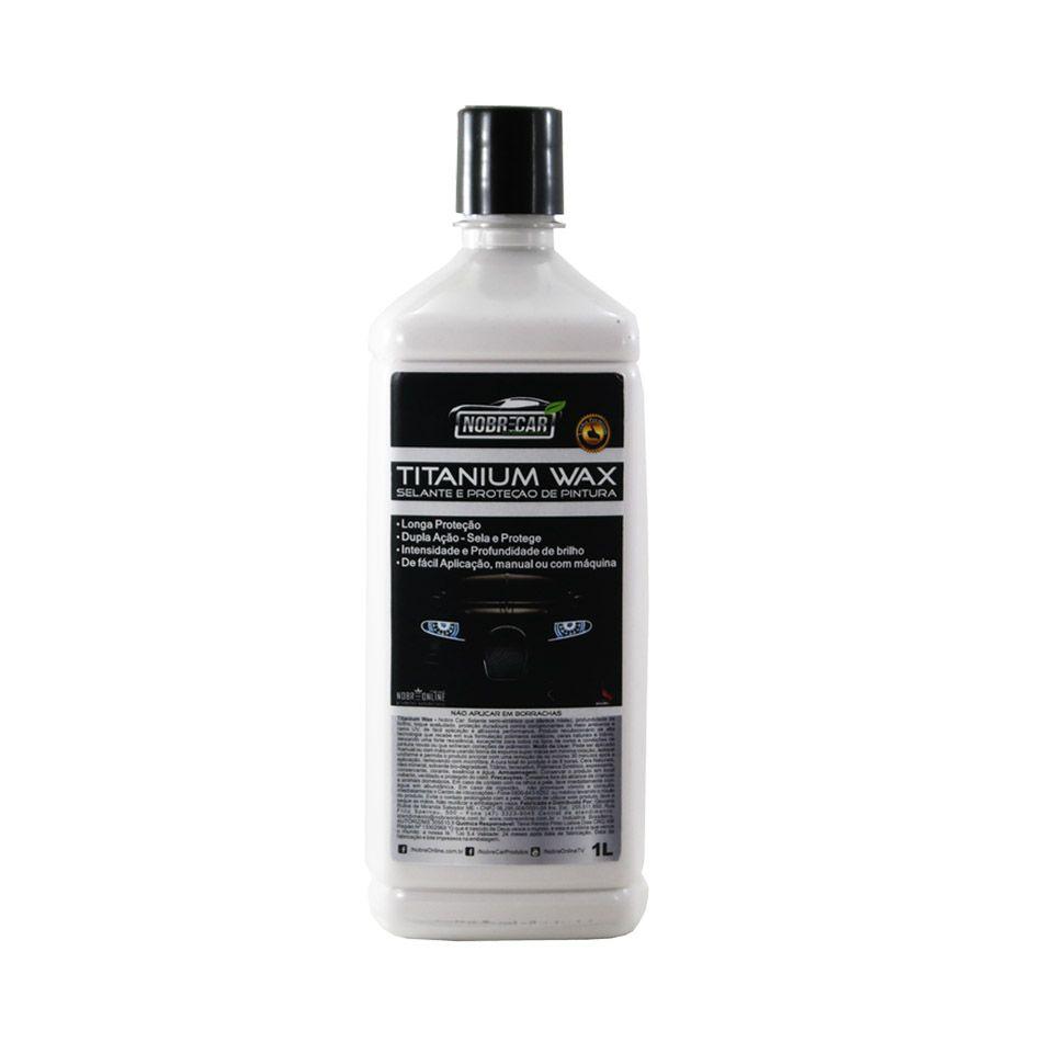 Titanium Wax Selante e Proteção de Pintura Linha Premium 1lt Nobre Car