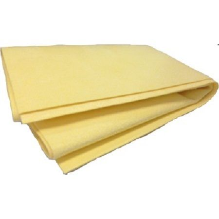 Toalha de Secagem Chamois Amarela 33x66cm Mills