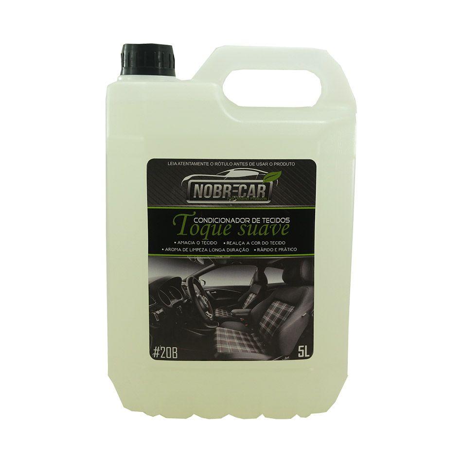 Toque Suave Condicionador de Tecidos Linha Premium 5lt Nobre Car