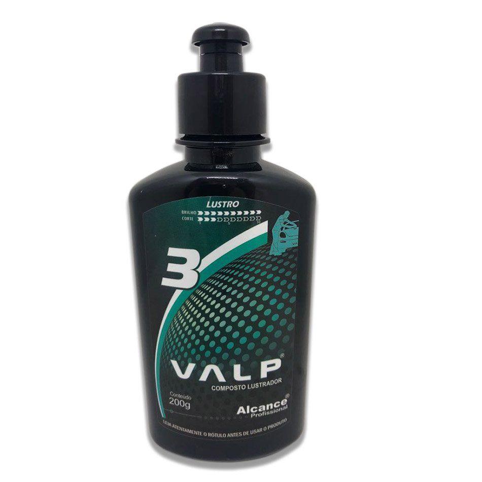 Valp 3 Composto Lustrador 200g Alcance Profissional