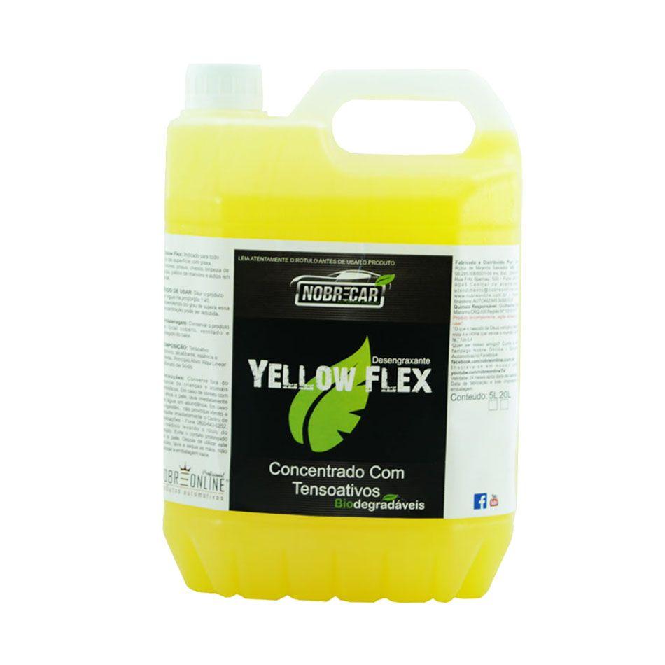 Yellow Flex Desengraxante 5lt Nobre Car