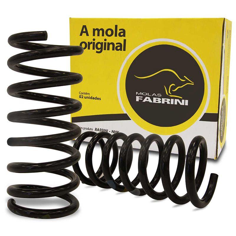 Par Mola Suspensão Dianteira - Bora 1999 A 2011 / Golf 1999 A 2013 / New Beetle 1999 A 2010 - Ivw0474M - Fabrini  - Conexao Brasil Autopeças