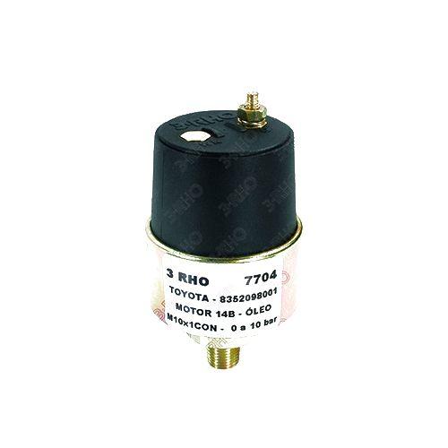 Sensor De Pressão - Blazer 00>10 / Maxion 01>06 / Ranger 00>09 / S10 97>10 - 7704  - Conexao Brasil Autopeças