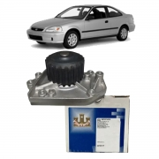 Bomba Água Honda Civic 1.6 16v Motor VTec 1995 1996 1997 1998 1999 2000