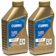 Fluido Oleo De Freio Dot4 Original Cobreq 500Ml - Kit01210