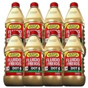 Kit 8 Fluido De Freio Dot4 Varga Trw 500Ml Cada - Kit00441