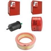 Kit Filtro de Combustivel + Filtro de Ar + Filtro de Oleo - Sandero 2014 A 2018 - G10230F / CA10447 / PH5796 / KIT01858