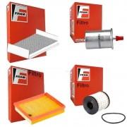 Kit Filtros Ar Cabine Oleo Combustivel - Xsara Picasso - 2006 a 2009 - CA8674 / CF9479 / CH9973ECO / G5857