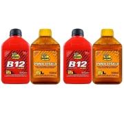 Kit Par Aditivo Bardahl B12 Plus E Aditivo Bardahl Prolonga