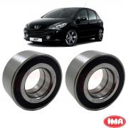 Par Rolamento Roda Dianteira Peugeot 307 1.6 2.0 C/ABS 2011