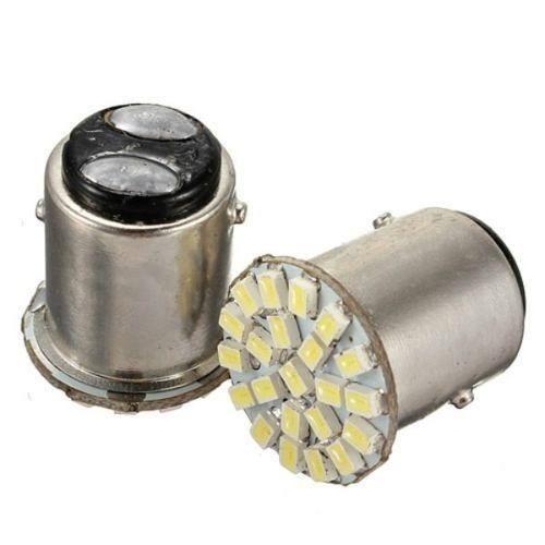 Lampada 22 Leds P21W 1156 Branca Alto Brilho 2 Polos  - Conexao Brasil Autopeças