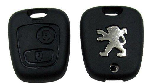 Capa Chave Peugeot 107 207 307 407 106 206 306 406 - 206  - Conexao Brasil Autopeças