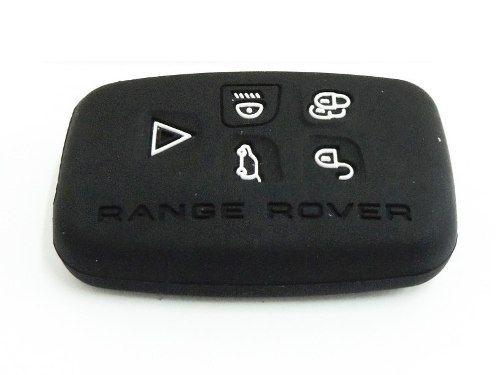 Capa Silicone Para Chave Telecomando Land Rover 5 Botões - Landrover  - Conexao Brasil Autopeças