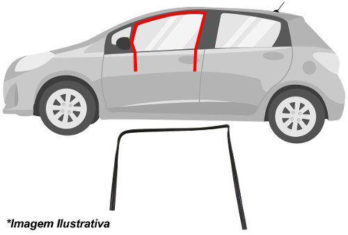 Canaletas Traseira Sem Pestana Direita Astra 4 Portas - 8815D  - Conexao Brasil Autopeças