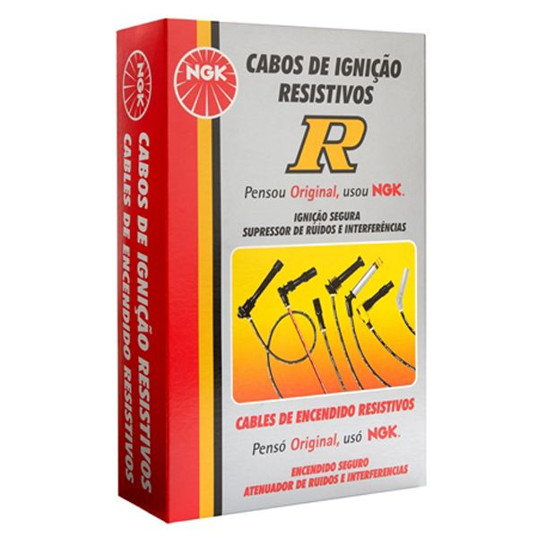 Cabo De Vela Igniçao - Dakota 1997 A 2000 / Cherokee 1993 A 1996 / Grand Cherokee Limited 1993 A 1996 - Scc02  - Conexao Brasil Autopeças
