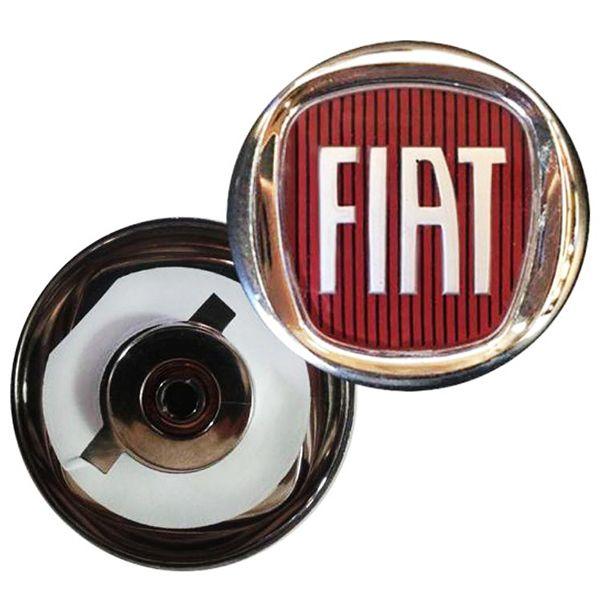 Emblema Vermelho Fiat Grade - 1313022  - Conexao Brasil Autopeças