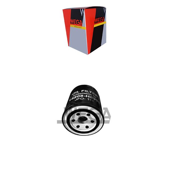 Filtro De Oleo Blindado - 300Zx 1990 A 1995 / Cherry 1978 A 1986 / Maxima 1995 A 1999 / Mitsubishi L200 1989 A 1995 / Nissan D21 1990 A 1998 - Jfo111  - Conexao Brasil Autopeças