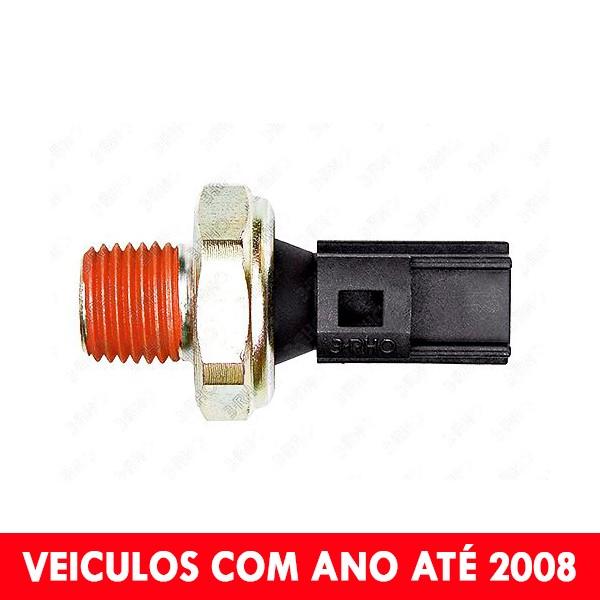 Interruptor Pressão Óleo - Courier 97>08 / Discovery 08 / Ecosport 04>08 / Fiesta 97>01 / Focus 01>08 / Ka 97>01 / Range Rover 08 - 3334  - Conexao Brasil Autopeças