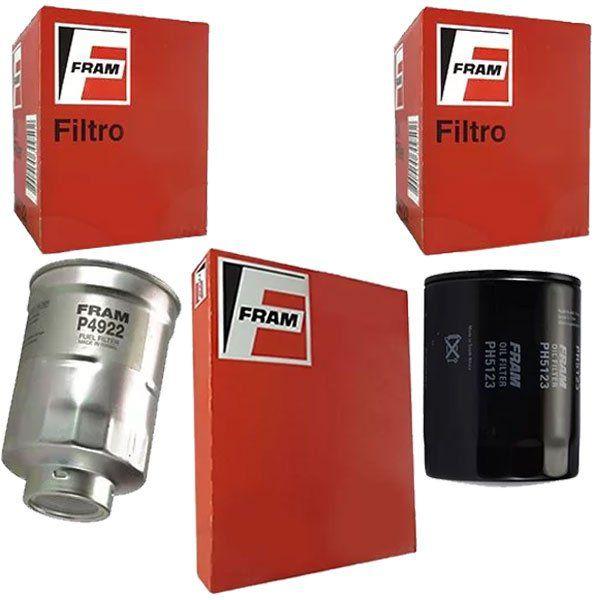 Kit Filtro Oleo + Ar + Combustivel - Hilux Sw4 1997 Á 2002 - Kit00841  - Conexao Brasil Autopeças