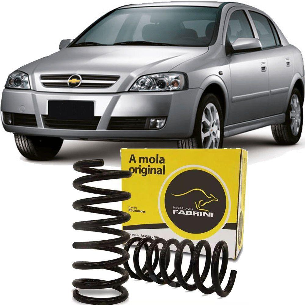 Kit Par Mola Suspensao Traseira Gnv Gas - Astra 1999 A 2011 - Kit00920  - Conexao Brasil Autopeças