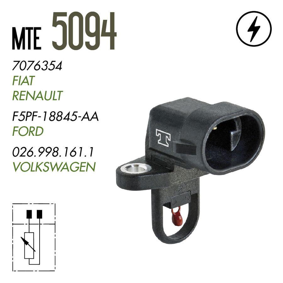 Plug Eletronico Sensor Temperatura Ar - Clio 97 A 02 / Elba 94 A 96 / Escort 95 A 96 / Fiorino 94 A 96 / Gol 95 A 96 / Logus 95 A 96 - 5094  - Conexao Brasil Autopeças